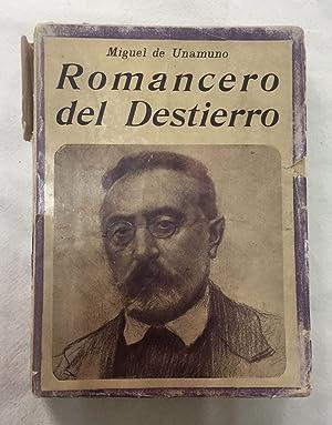 ROMANCERO DEL DESTIERRO: UNAMUNO, Miguel de