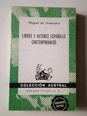 Libros y autores españoles contemporáneos: Miguel de Unamuno