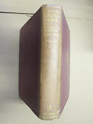 Rudyard Kipling's Verse, 1885-1918 (Inclusive Edition): RUDYARD KIPLING