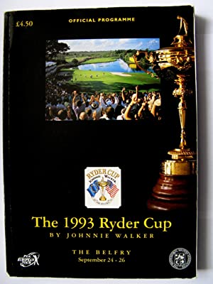 The 1993 Ryder Cup: Official Programme: Walker, Johnnie