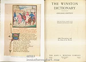 The Winston Dictionary College Edition: Winston Dictionary Staff