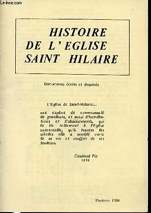 HISTOIRE DE L'EGLISE DE SAINT HILAIRE.: CARDINAL PIE