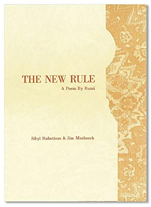 The New Rule: A Poem [Limited Edition, Signed by the Publishers]