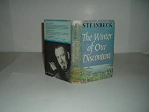 THE WINTER OF OUR DISCONTENT By JOHN: JOHN STEINBECK