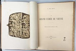 Le Grand Camée de Vienne, (Extrait de la Gazette archéologique de 1886), (IN FRANZÖSISCHER SPRACHE)...
