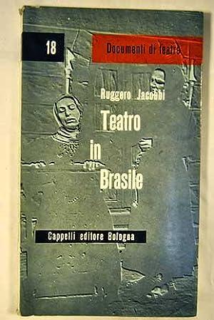 Teatro in Brasile: Jacobbi, Ruggero