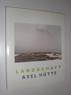 Landschaft. Mit Texten von Klaus Honnef und: HÜTTE, Axel: