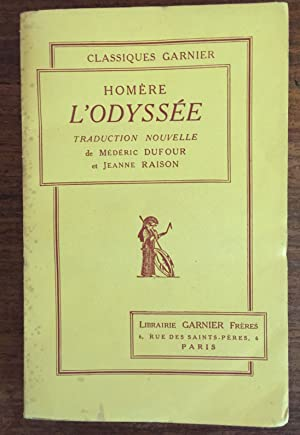 Image du vendeur pour L'Odyssée mis en vente par LibrairieLaLettre2
