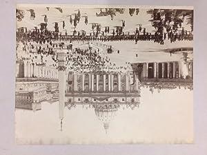 Basilica di S. Pietro. La piazza in occasione di una festa papale. Plattennummer 5904. (mit ...