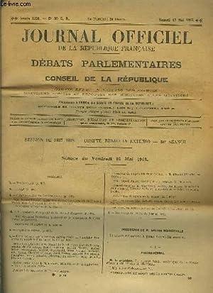 JOURNAL OFFICIEL DE LA REPUBLIQUE- N°30 C.R.- SAM 17 MAI ...