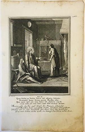 Lukas 10 - Jesus, Maria und Martha.