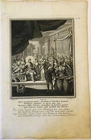 Johannes 2 - Hochzeit zu Kanaa, Wasser