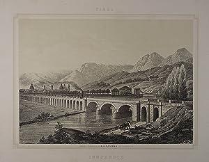 Innsbruck. Tonlithographie n. Basilio Armani. Innsbruck, C.: Innsbruck