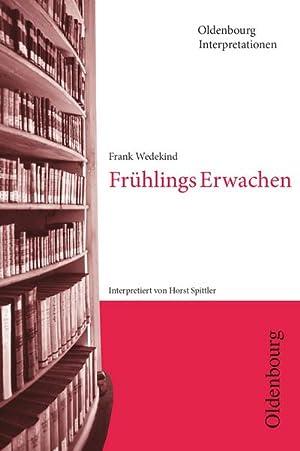Bild des Verkäufers für Frühlings Erwachen. Interpretationen zum Verkauf von AHA-BUCH GmbH