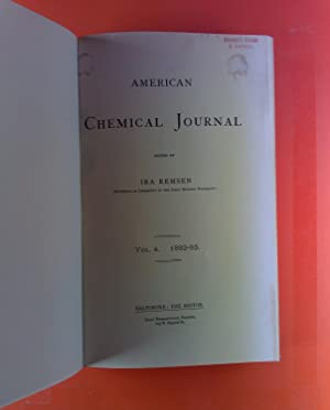 American Chemical Journal. Vol. IV, 1882-1883. Thomas M. Drown, P. W. Shimer: the analylsis of iron...
