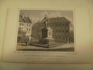 Strasburg, das Guttenbergs Monument in.