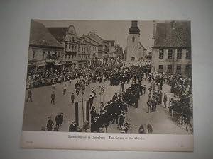 Tannenbergfeier in Insterburg. Der Festzug in den Straßen.: Pressefoto/ Propagandafoto/Aushängefoto...