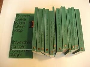Taschenbuchausgabe in 15 Bänden.: Fontane, Theodor