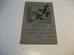 der schwedischen Industrieabteilung der Baltischen Ausstellung in Malmö 1940.: Offizieller ...