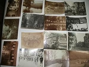 Sammlung von 14 Fotographien, wohl Südbaden/Schwarzwald.