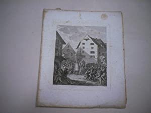 Geschehen auf dem Marktplatz von Zug im Jahre 1522.