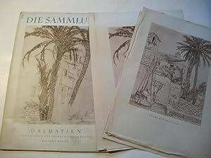 Dalmatien. Zeichnungen von dalmatischen Reisen.: Wecus, Walter v.