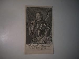 Fridericus Wilhelmus Rex Borussiae.