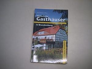 Historische Gasthäuser in Brandenburg.: Otto, Karl-Heinz