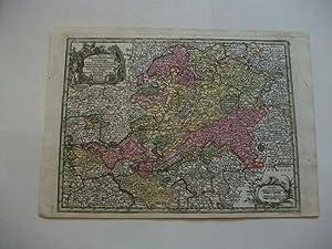 Mappa Circuli Rhenani superioris in quo oculis sistuntur Landg. Hasso-Cassel, Darmstadiens: ...