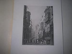 Strada St. Ursola, Valetta. Malta.