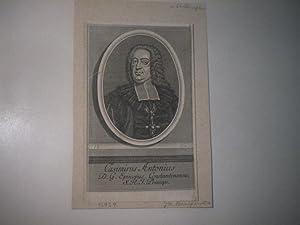 Casimirus Antonius. D.G. Episopus Constantinensis S.R.J. Princeps.