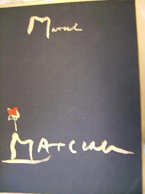 Hans Falk zeichnet Marcel Marceau. Mit 3 (v. 4) signierten Orig.Lithographien und 1 handkolorierten...