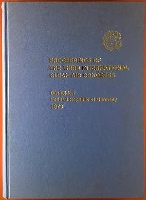 Proceedings of the third International Clean Air Congress