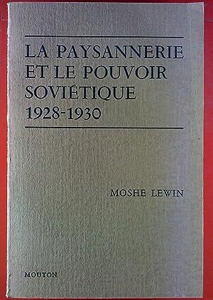 paysannerie et le pouvoir sovietique 1928-1930.