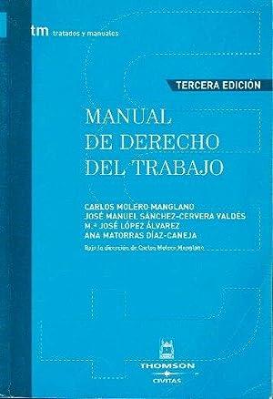 Manual de derecho del trabajo: Molero Manglano, Carlos/