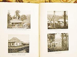 1910 FRANZ JUNGHUHN Botanist Geographer in Java GEDENKBOEK FESTSCHRIFT w/ PHOTOGRAPHIC PLATES: ...