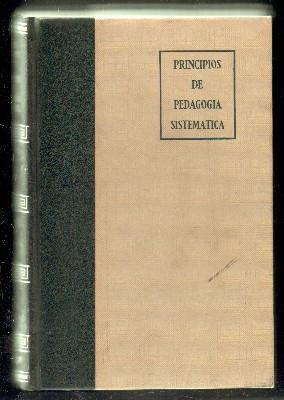 PRINCIPIOS DE PEDAGOGÍA SISTEMÁTICA: GARCÍA HOZ,VÍCTOR