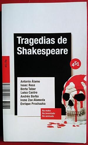 TRAGEDIAS DE SHAKESPEARE: VV. AA.