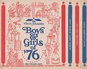 Flavor of America: Boys and Girls of '76, The.