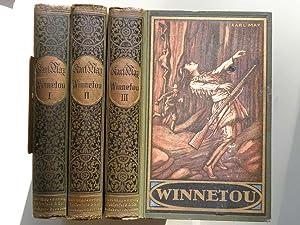 Winnetou. Reiseerzählung. 3 Bände.: May, Karl