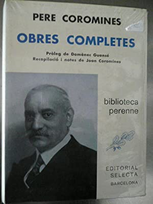 OBRES COMPLETES: Coromines, Pere.