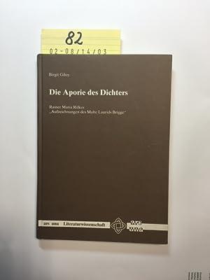 """Die Aporie des Dichters - Rainer Maria Rilkes """"Aufzeichnungen des Malte Laurids Brigge"""" (..."""