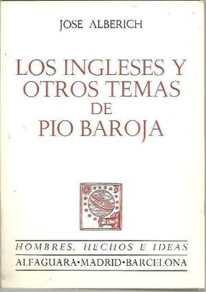 LOS INGLESES Y OTROS TEMAS DE PIO: ALBERICH, José.