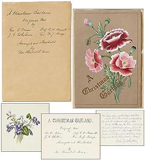 Manuscript]: A Christmas Garland: Original Manuscript by Rev. O. Miner, Prof. C.W. Bennett, J.G. ...