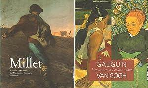 2 Volumes. Vol. 1: Millet. Sessanta capolavori: Millet, Jean-Francois; Gauguin,