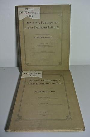 Monumenta Tachygraphica Codicis Parisiensis Latini 2718. Facsiculus Prior. Formulas et Capitulare ...