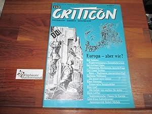 Criticon. Konservative Zeitschrift 113 Mai Juni 1989: Schrenck-Notzing, Caspar von