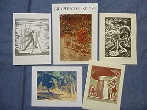 Graphische Kunst Heft 51 / 2. Heft 1998 Ausgabe C mit Originalgraphik-Beilagen: Visel, Curt (Hrsg.)