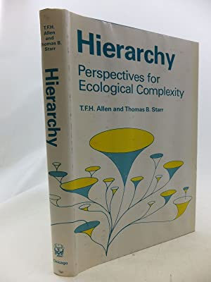 Seller image for HIERARCHY PERSPECTIVES FOR ECOLOGICAL COMPLEXITY for sale by Stella & Rose's Books, PBFA