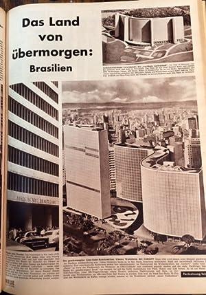 Neue Illustrierte (erscheint wöchentlich). 1952. 7. Jahrgang. Blankenagel, Gustav (Verlagsleiter), ...